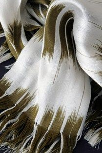 Ikat scarf by Rezia Wahid, Photography by David Westwood