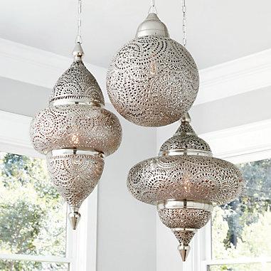 Kamal Moroccan Pendant Light