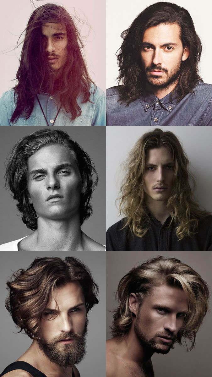 Haircuts men long size matters us hair trends that rocked the nation  haircut long