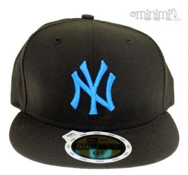 Photo New Era Casquette Enfant NY Yankees - Noir et Bleu  mode  enfant   031fdd6b237