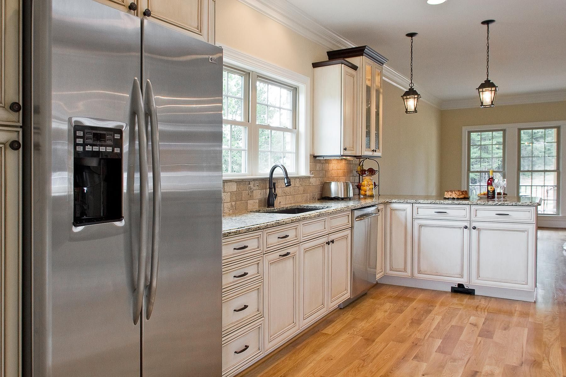 New Post Elegant Stainless Steel Kitchen Appliances With White Cabinets