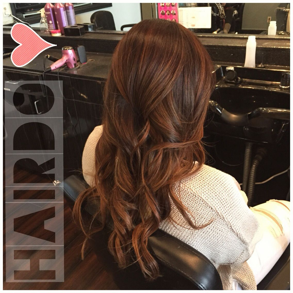 Chestnut Balayage Brown Hair Balayage Chestnut Hair