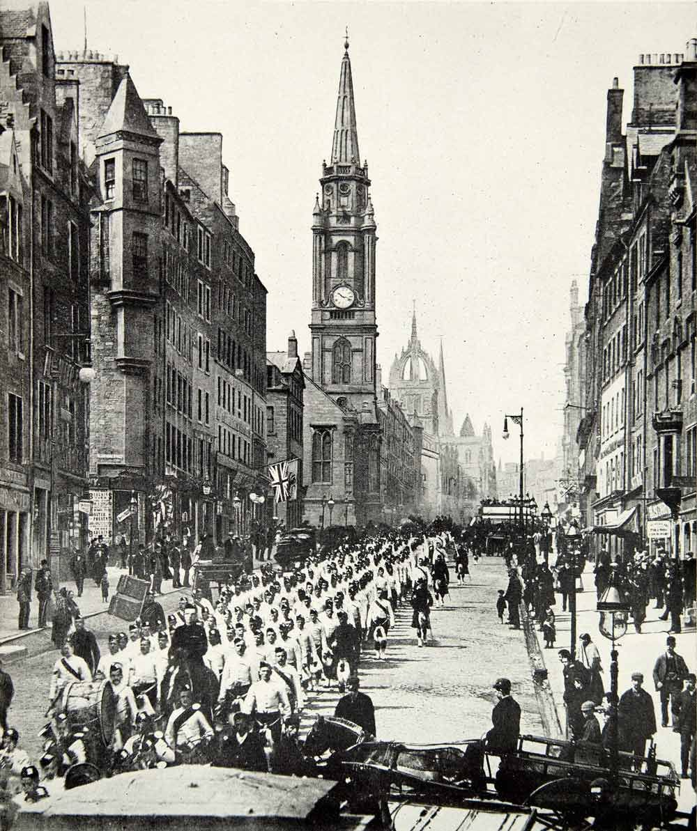 White apron edinburgh - On March In 1890 S Edinburgh My Great Grandfather Black Watch 1889 To