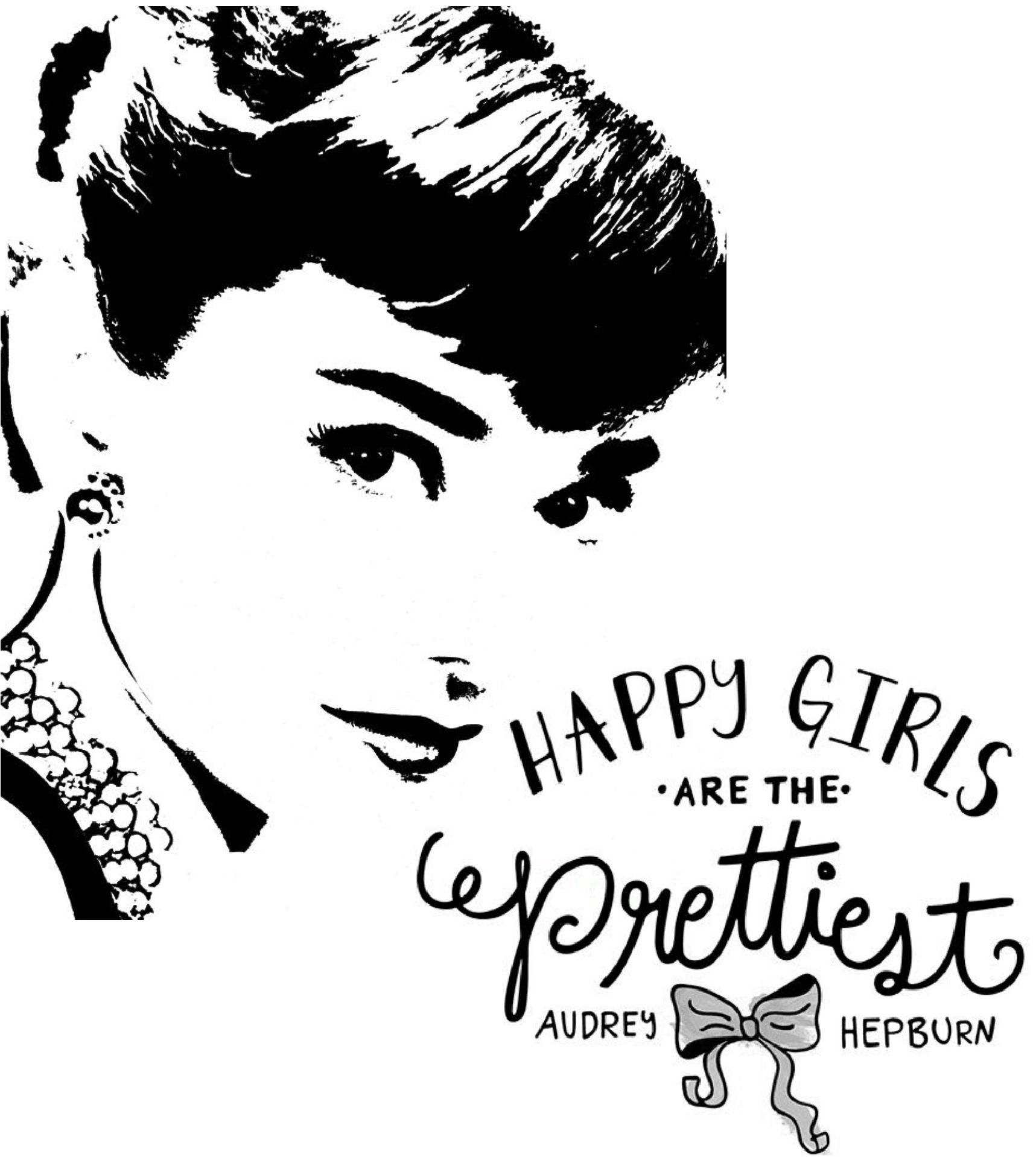 Audrey Hepburn quote silhouette | Qoutes | Pinterest ...