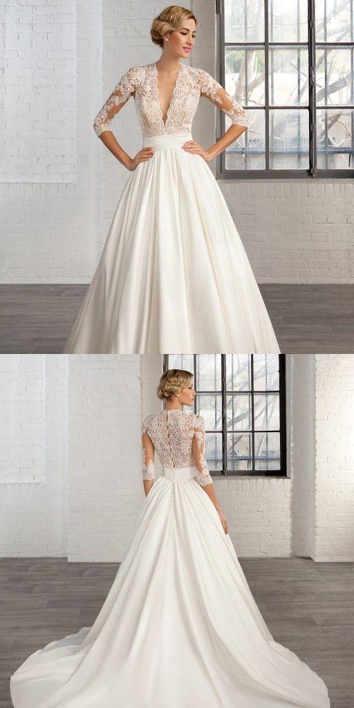 Vintage wedding dress  vintage wedding dress best photos | Vintage weddings, Wedding ...