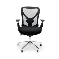 Ofm Stratus Heavy Duty Big And Tall Mesh Back Office Chair Black Office Chair Most Comfortable Office Chair Cheap Office Chairs