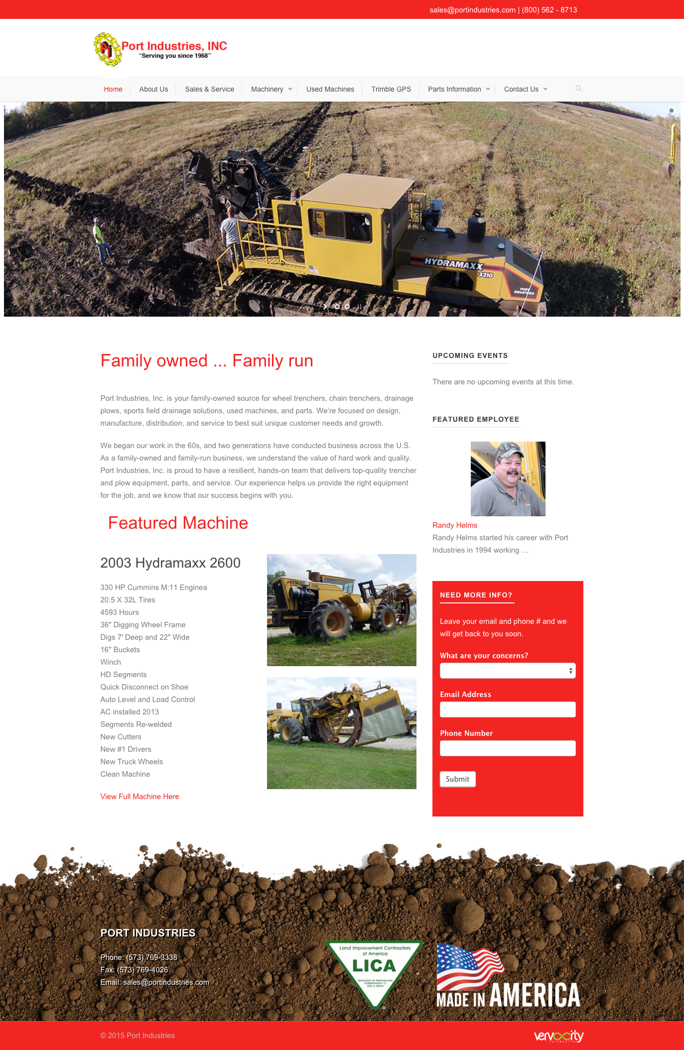 We recently launched the new Port Industries website at http ...