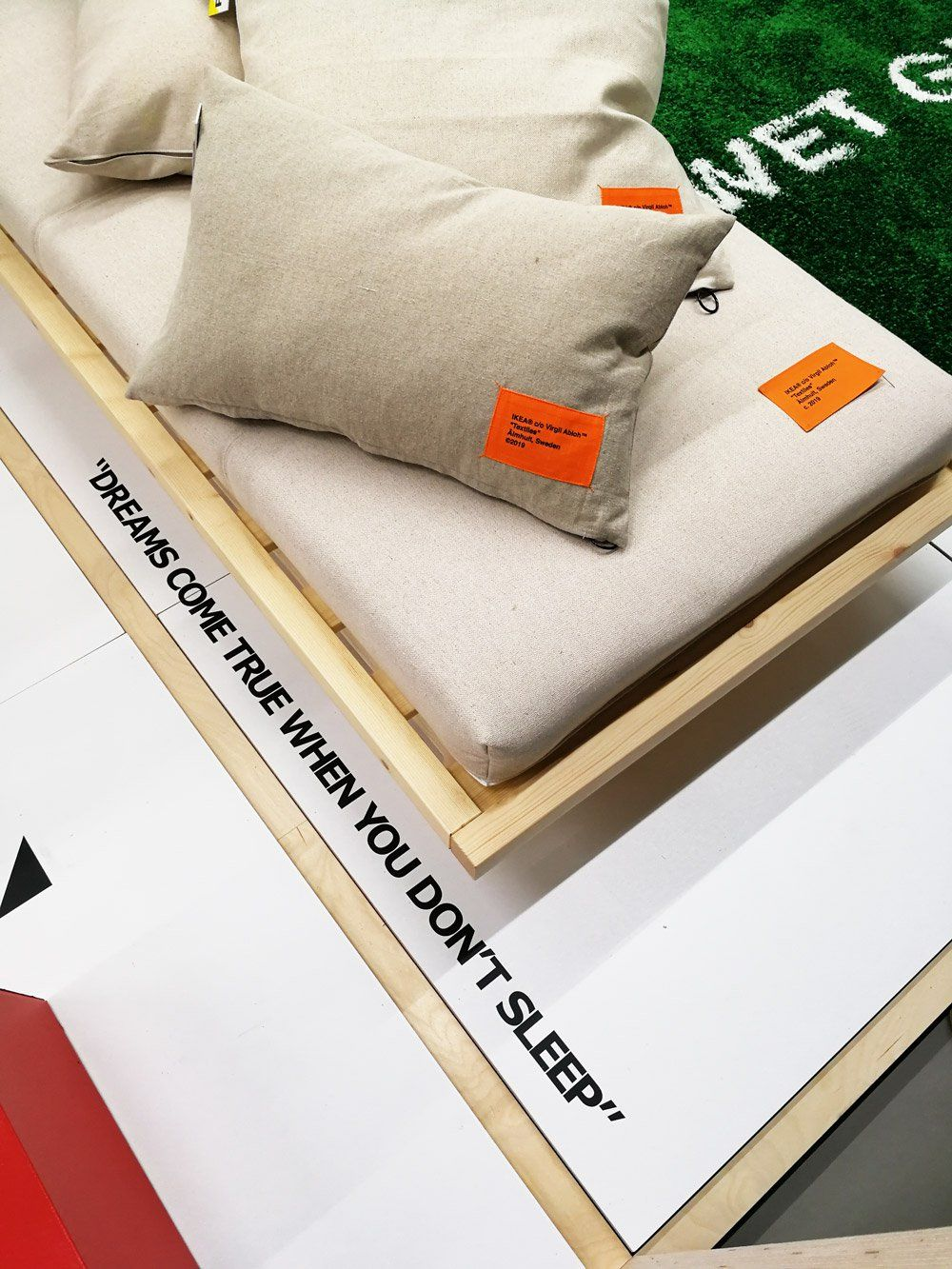 off white ikea rug release date