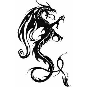 Black Dragon Tattoos And Designs How To Tattoo Dragon Tattoo Wallpaper Black Dragon Tattoo Tribal Dragon Tattoos