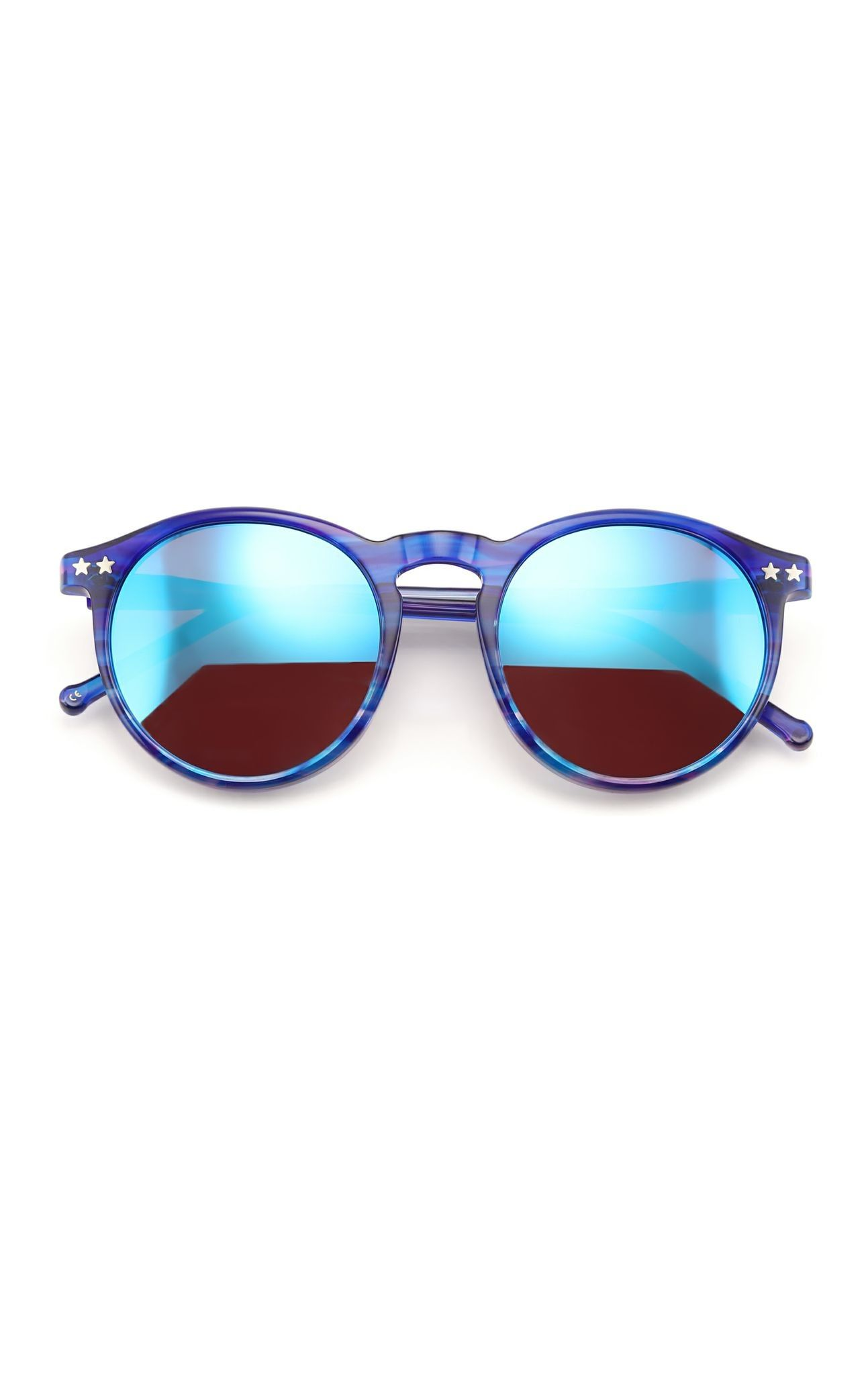 e87c9deeea Wildfox Sunglasses - The Steff Deluxe in Blue Tiger