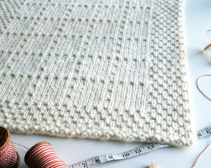 Bed Runner KNITTING PATTERN / River of Dreams / Cable Blanket ...