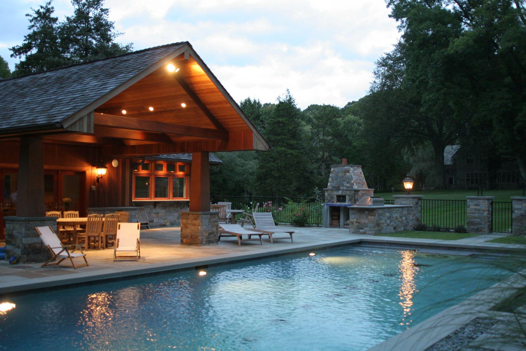 House Plan Cabana No 1911 Pool House Designs Pool House Plans