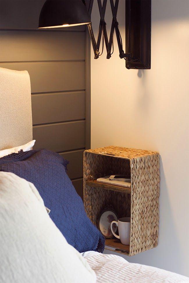 Idee fai da te per la camera da letto - I comodini ...