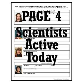 Women's History Month: Female Scientist WebQuest Activity ...
