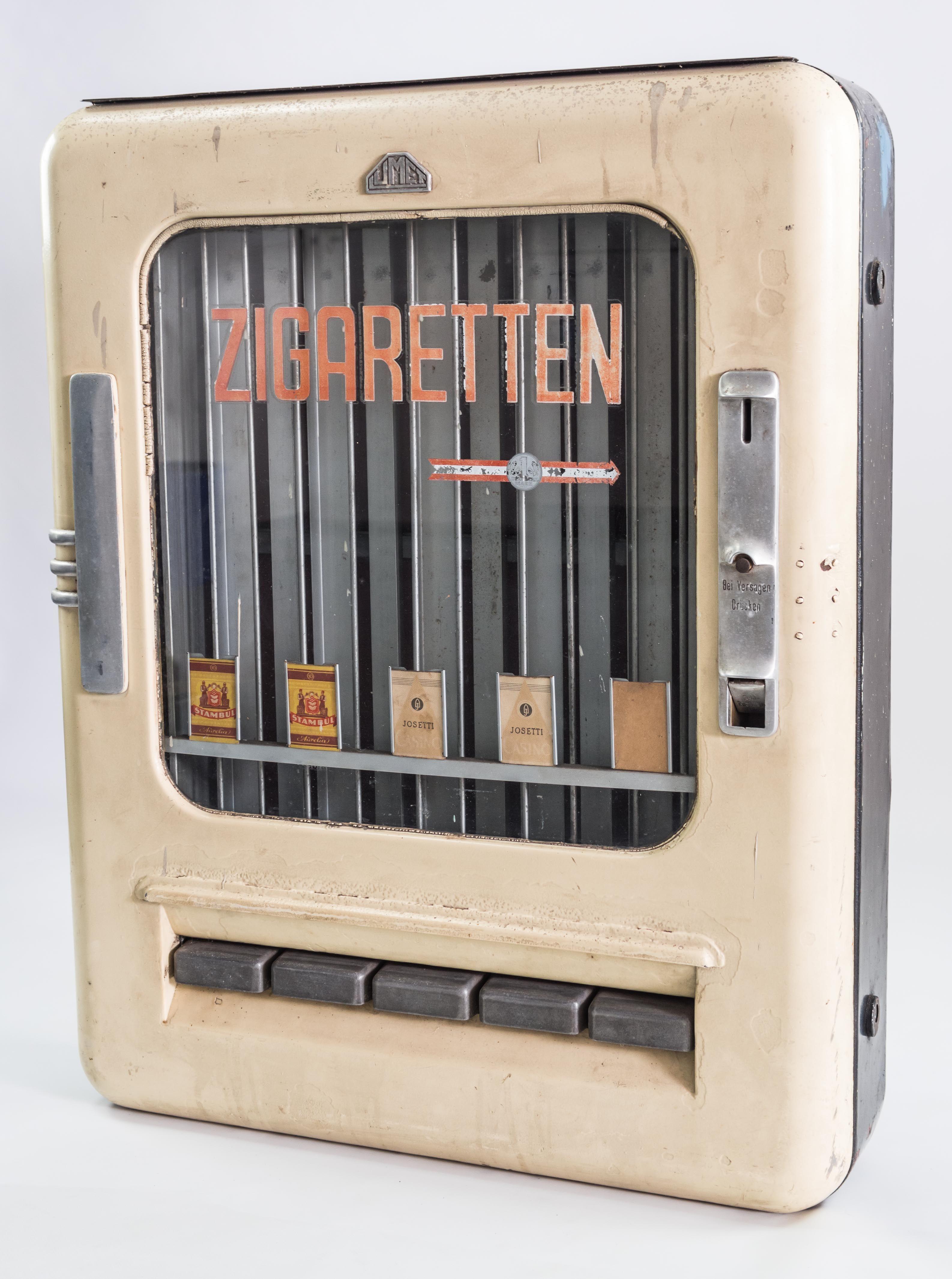 Ddr Museum Museum Objektdatenbank Zigarettenautomat Copyright