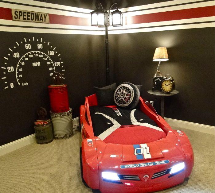 Hans Race Car Bed Design With Us Furniture Car Bedroom Kids