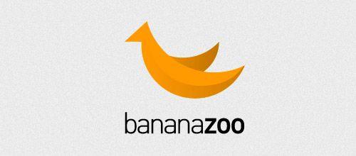 Banana Zoo Logo Designs 45 Stylish Banana Logo Designs For