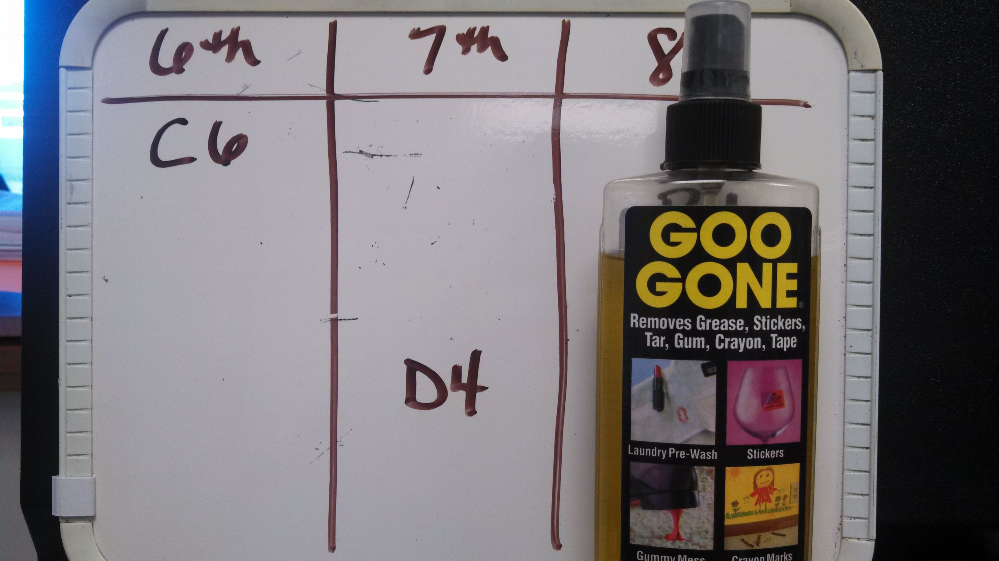 Use Goo Gone To Revive Tired Whiteboards When Your Whiteboard No Longer Wipes Clean Give It A Good Cleaning With Whiteboard Cleaning Wipes Goo Gone Cleaning