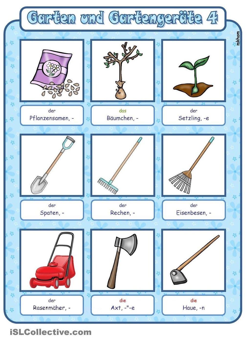 Garten und Gartengeräte (4) | Garten | Pinterest | Gartengeräte und ...