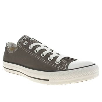 Mens Grey Converse All Star Speciality Ox Trainers | schuh