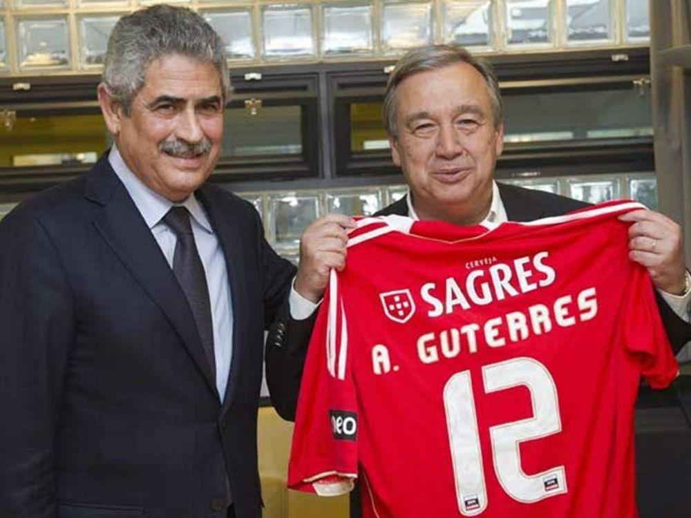 Orgulho pelo benfiquista António Guterres, novo Secretário Geral da ONU!!!
