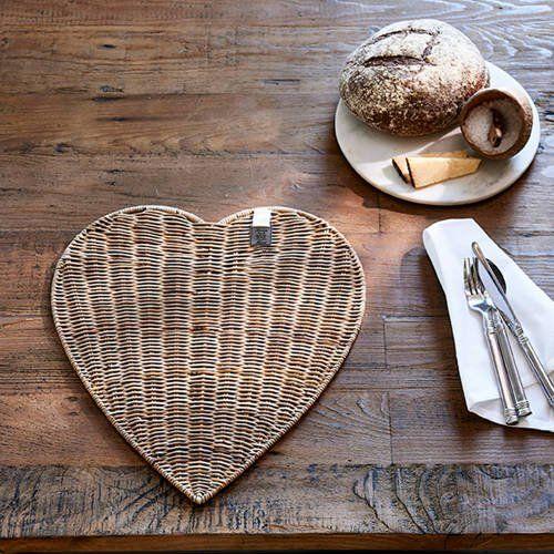 Rustic Rattan Placemat Diner black kopen? | Rivièra Maison
