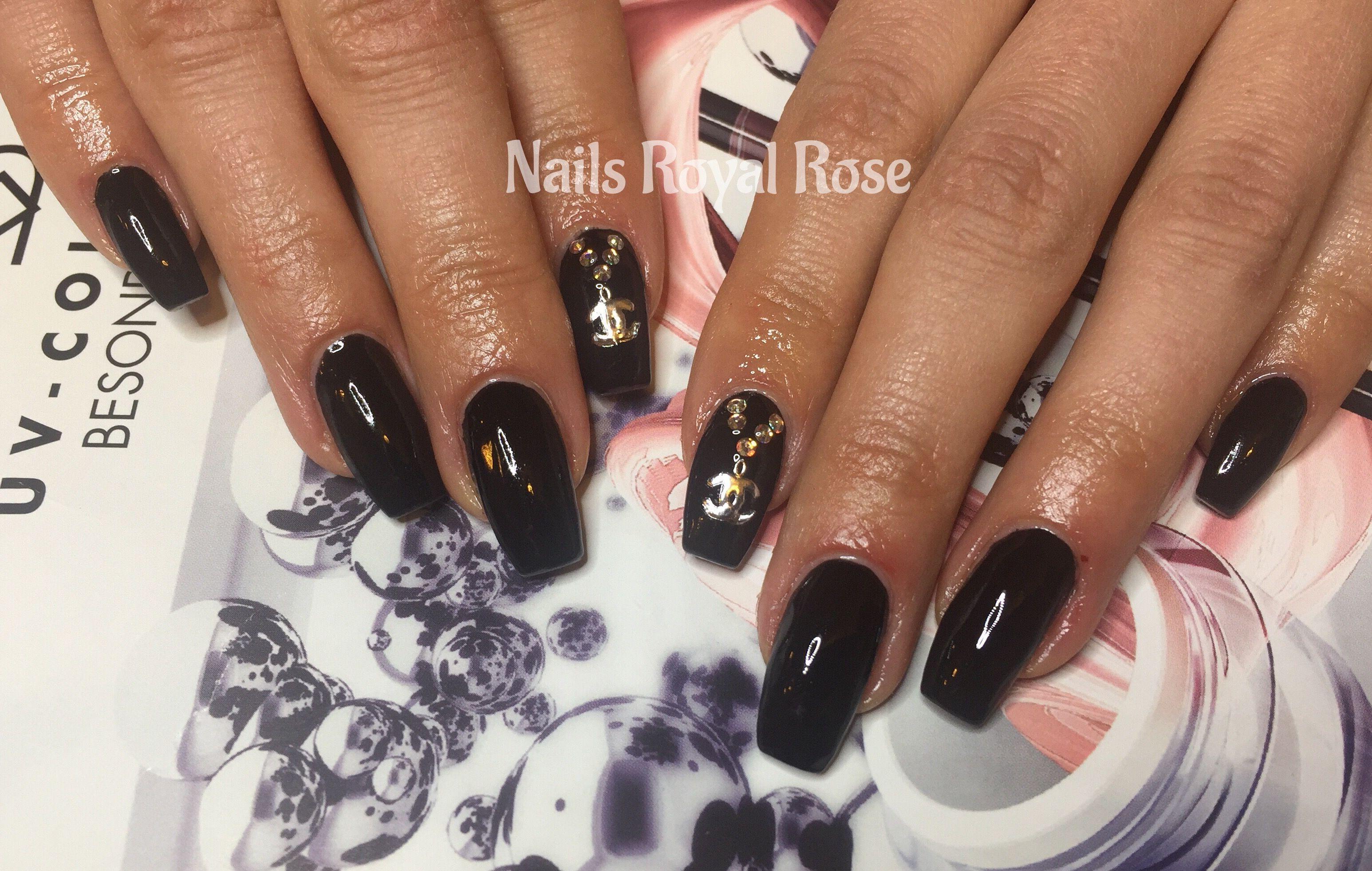 Nails Nägel Nagelmodellage Nails Royal Rose Nailart