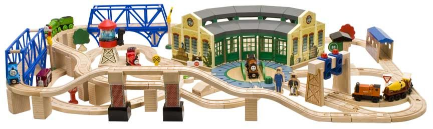 Tidmouth Sheds Deluxe set layout | train table ideas | Pinterest ...