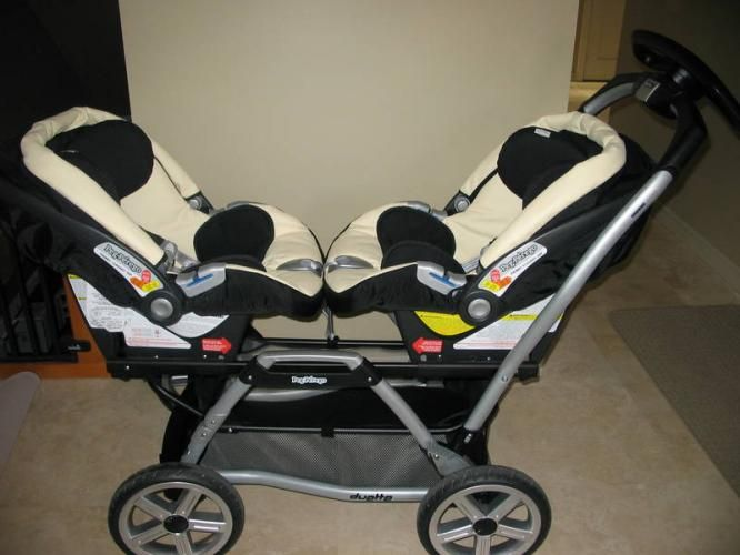 twin strollers with car seats | Peg Perego: Twin Stroller, Car ...