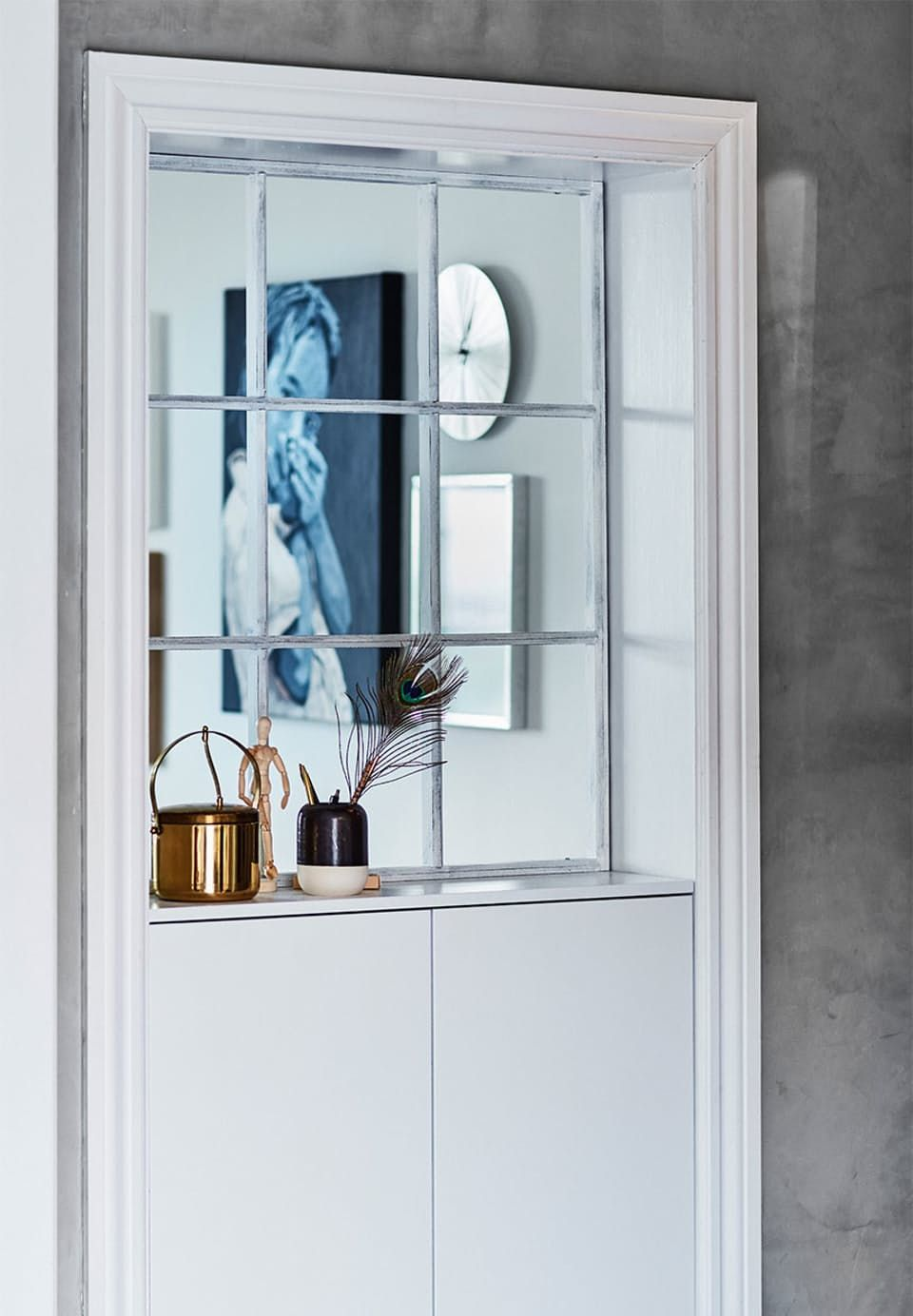 ... Window And Open Up Between Two. Lys Lejlighed Proppet Med Unikke  Løsninger Home Interior