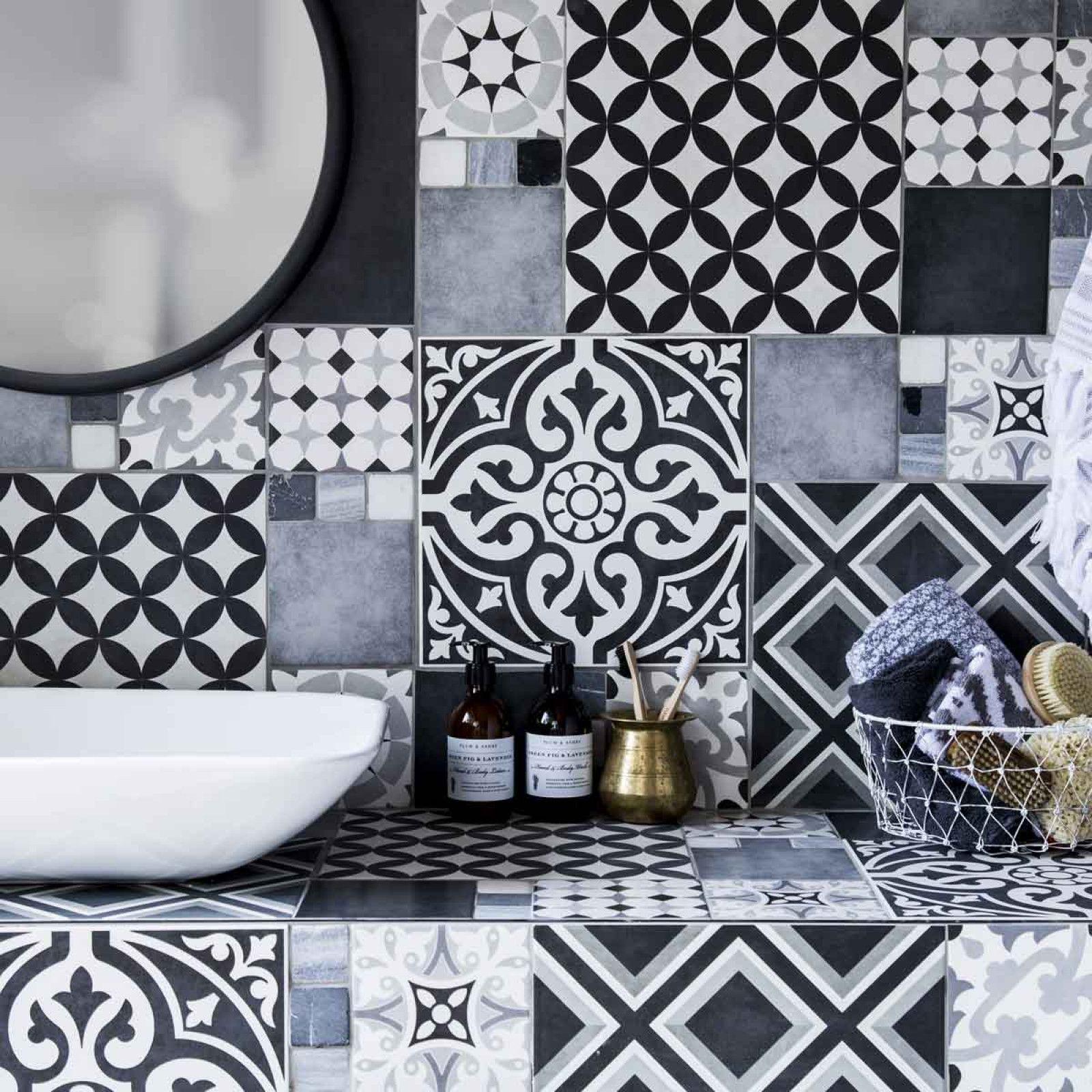 Feature floors bertie black white matt wall floor british feature floors bertie black white matt wall floor british ceramic tile dailygadgetfo Image collections