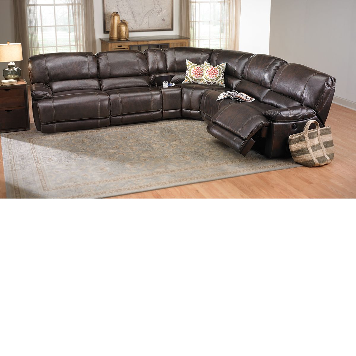 The Dump Luxe Furniture Outlet Power Reclining Sectional Sofa