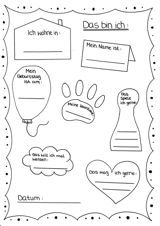 Schüler kennenlernen steckbrief
