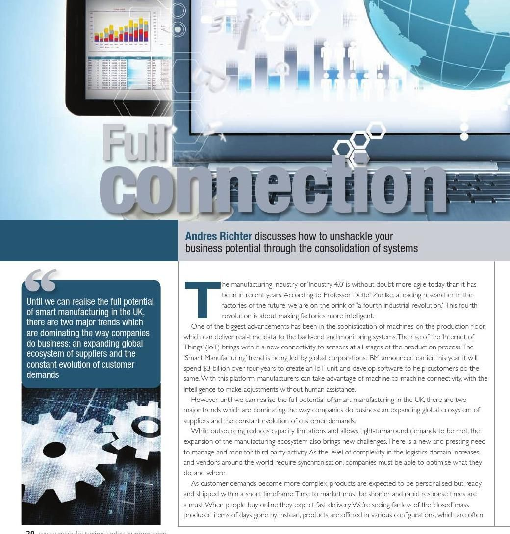 Manufacturing Today Europe Issue 125 February