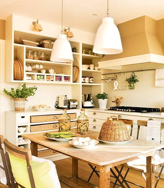 Cocina muy acogedora de El Mueble revista | Decoracion | Pinterest ...