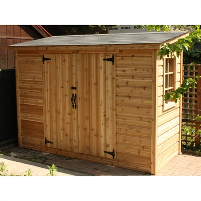 Best Summerwood Products Sa4X Sarawak Storage Shed Flat Roof 640 x 480