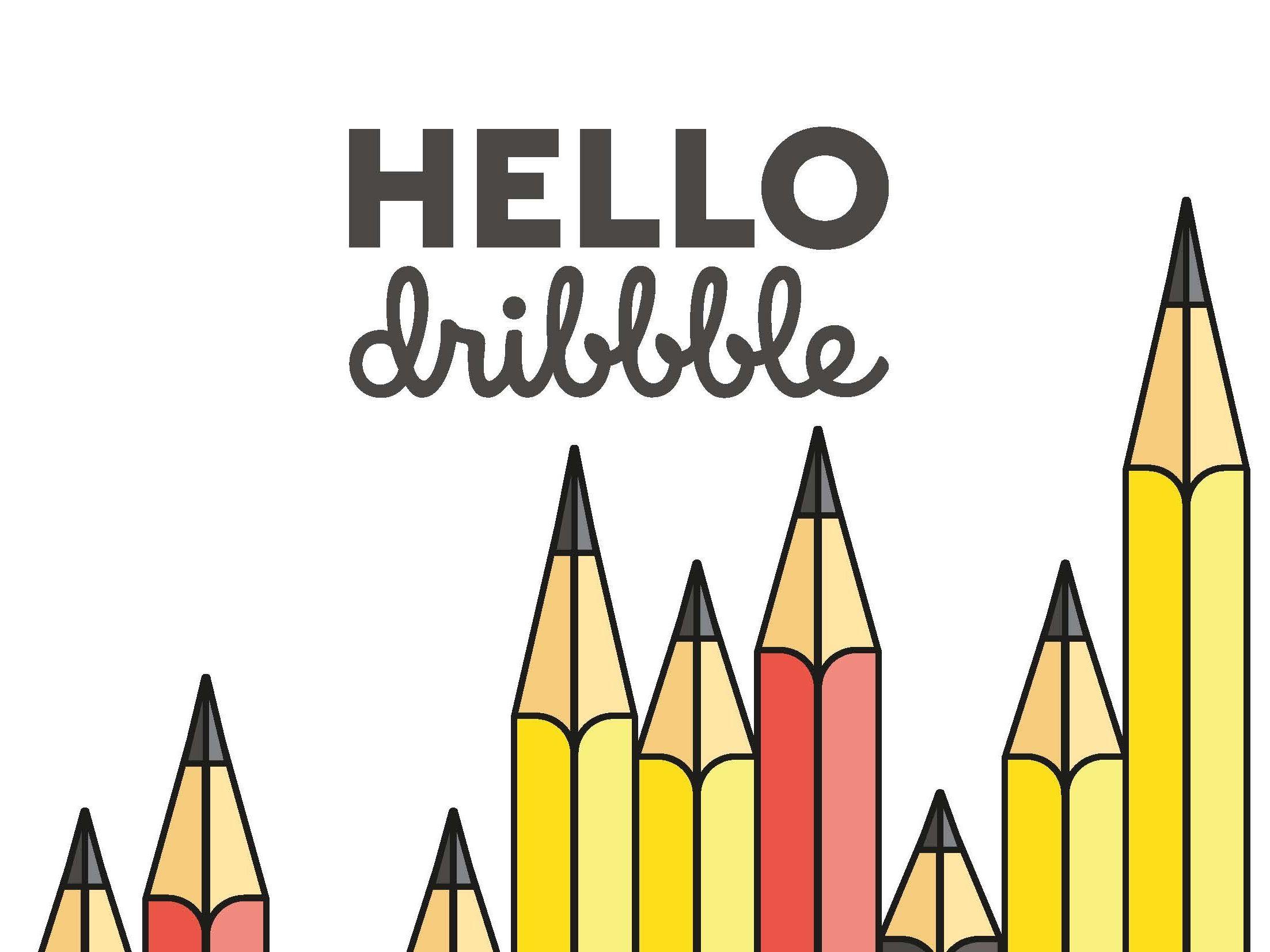 Hello Dribbble Dribbble design, Animal logo, Dribbble