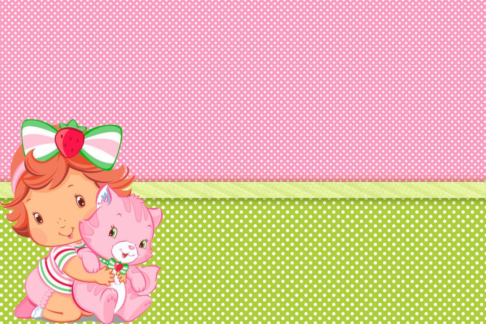 Kit Para Imprimir Moranguinho Baby Moranguinho Baby Moranguinho