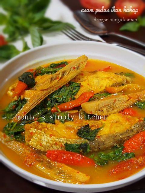 Resep Asam Pedas Ikan Honje Resep Masakan Indonesia Resep Masakan Resep Sederhana