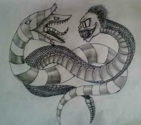 Beetlejuice Vs Sandworm By Deathlytoxicity Deviantart Com On Deviantart Beetlejuice Tattoo Tim Burton Tattoo Movie Tattoos