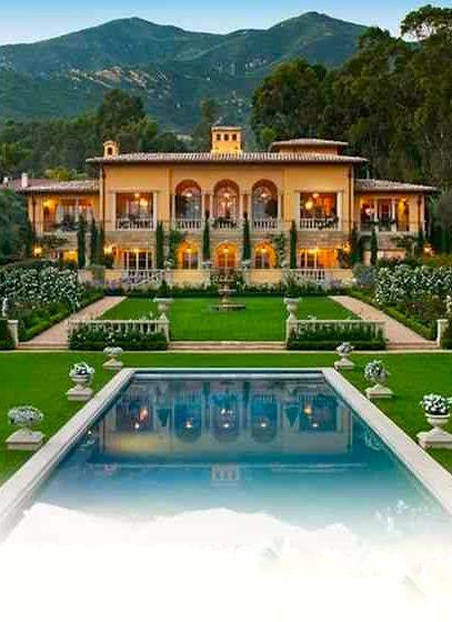 Mediterranean Style Home - Einfach Die Vielen Versailles Pflanzen ... Inspirierende Swimming Pools Mediterranem Stil
