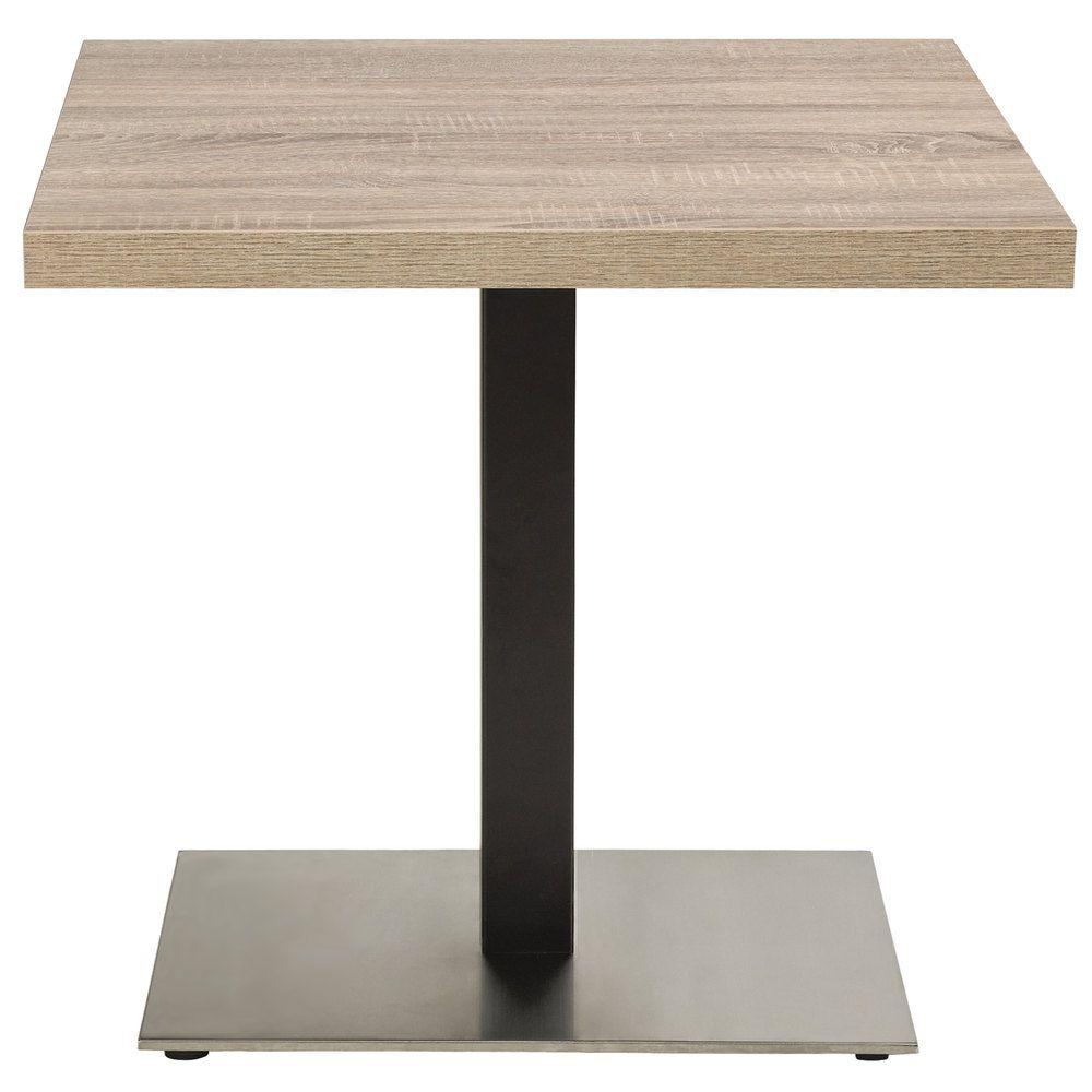 Grosfillex US Indoor Contemporary X Single Pedestal - Commercial table bases