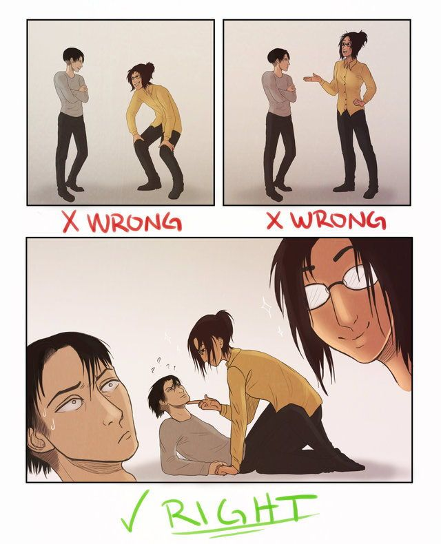 Levihan how to talk to short people meme by Eyebulb on ...