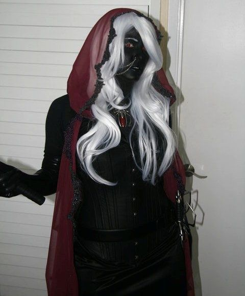 Larp Drow Dark Elf Costume Larping In 2019 Elf