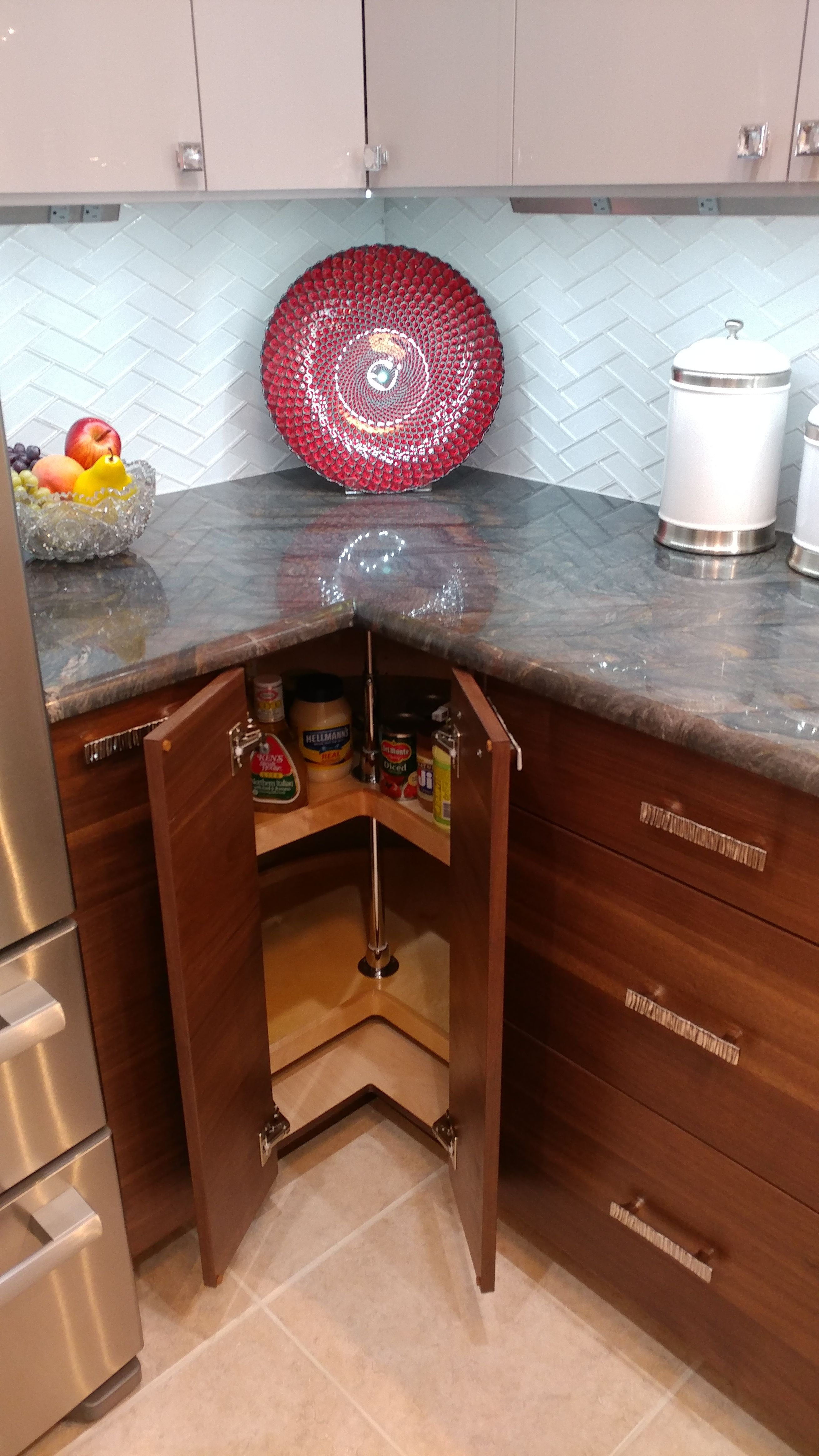 Base lazy susan with double doors. | Kitchen cabinets ...