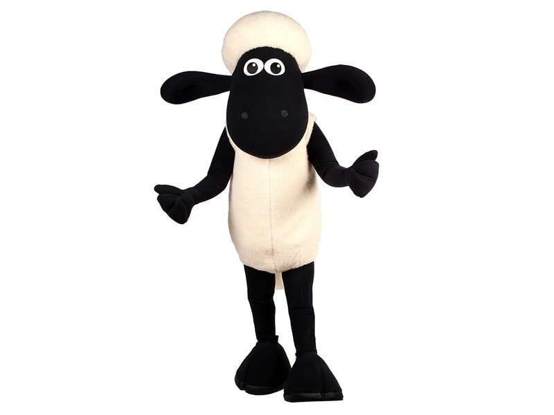 Shaun The Sheep Costume Character
