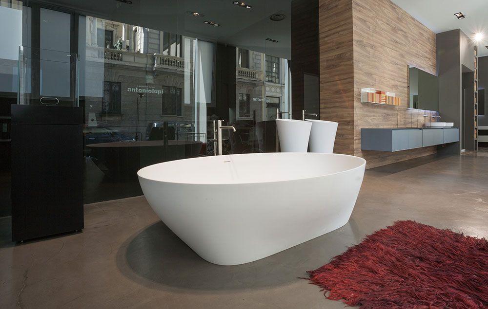 Vasca Da Bagno Lupi : Vasca da bagno ovale. vasca da bagno ovale in acrilico bianco cayman