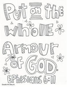 Image result for bible scavenger hunt whole armor of God