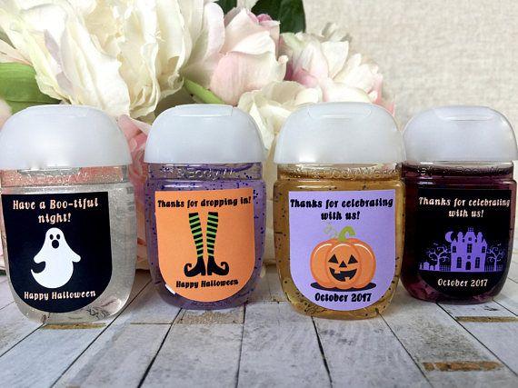 Halloween Favor Labels Halloween Party Favor Stickers Hand