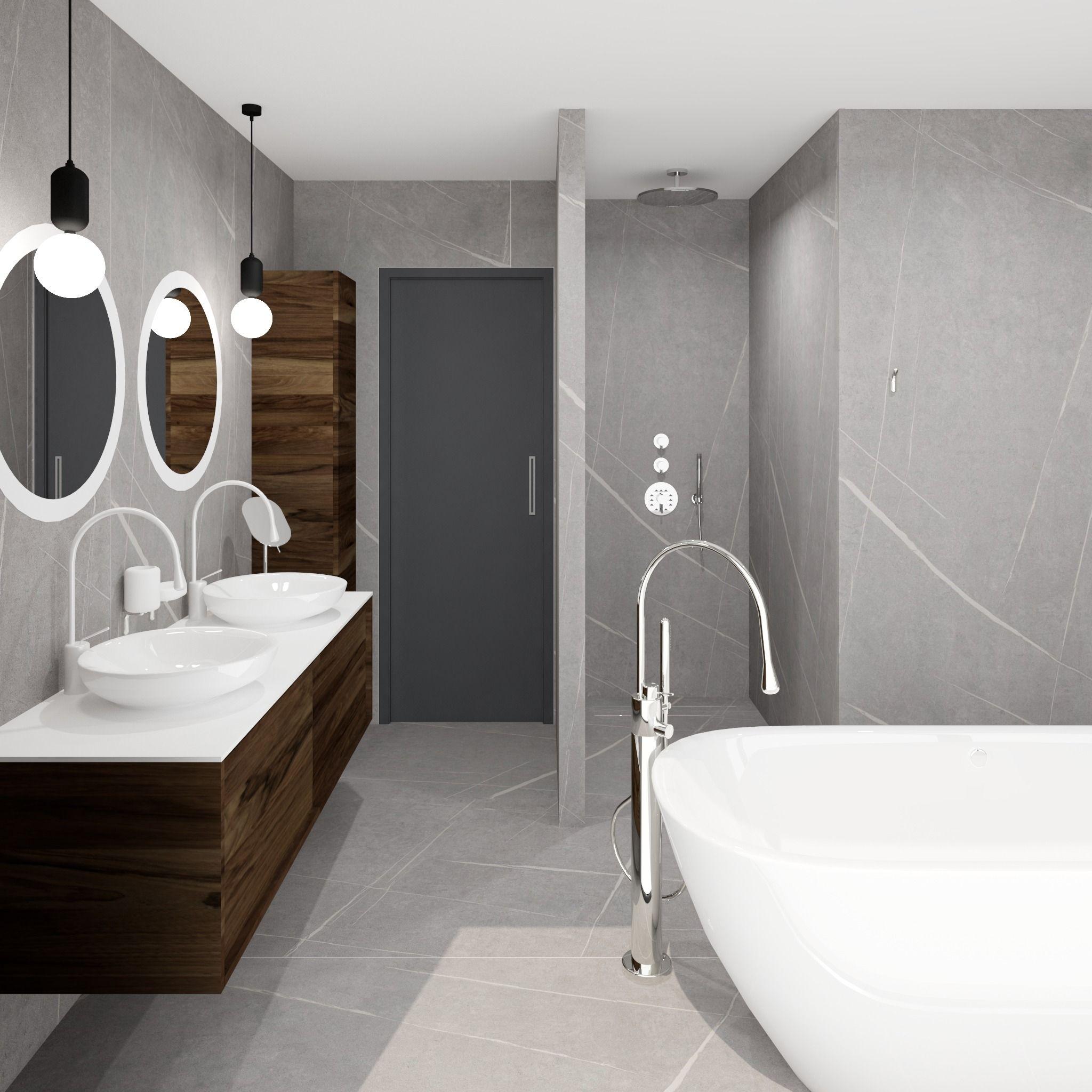 Projet Salle De Bain 3d Wallpaper Hd